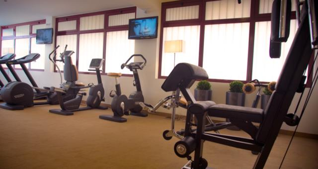 Discover the free Technogym center and the other services of the hotel!