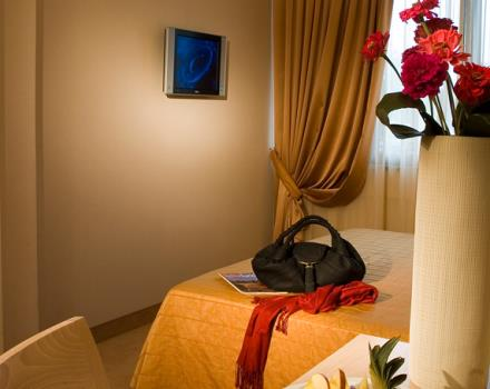 Discover the comfortable rooms at the BEST WESTERN Hotel Rome Airport in Rome Fiumicino